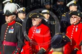 Remembrance Sunday at the Cenotaph in London 2014: Group C26 - Royal Hospital Chelsea. Press stand opposite the Foreign Office building, Whitehall, London SW1, London, Greater London, United Kingdom, on 09 November 2014 at 11:42, image #233