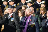 Remembrance Sunday at the Cenotaph in London 2014: Group C29 - Combat Stress. Press stand opposite the Foreign Office building, Whitehall, London SW1, London, Greater London, United Kingdom, on 09 November 2014 at 11:43, image #267