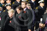 Remembrance Sunday at the Cenotaph in London 2014: Group D4 - Foreign Legion Association. Press stand opposite the Foreign Office building, Whitehall, London SW1, London, Greater London, United Kingdom, on 09 November 2014 at 11:43, image #292