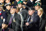 Remembrance Sunday at the Cenotaph in London 2014: Group D4 - Foreign Legion Association. Press stand opposite the Foreign Office building, Whitehall, London SW1, London, Greater London, United Kingdom, on 09 November 2014 at 11:43, image #293