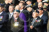 Remembrance Sunday at the Cenotaph in London 2014: Group D5 - Not Forgotten Association. Press stand opposite the Foreign Office building, Whitehall, London SW1, London, Greater London, United Kingdom, on 09 November 2014 at 11:43, image #302