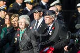 Remembrance Sunday at the Cenotaph in London 2014: Group D5 - Not Forgotten Association. Press stand opposite the Foreign Office building, Whitehall, London SW1, London, Greater London, United Kingdom, on 09 November 2014 at 11:43, image #306