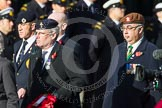 Remembrance Sunday at the Cenotaph in London 2014: Group D5 - Not Forgotten Association. Press stand opposite the Foreign Office building, Whitehall, London SW1, London, Greater London, United Kingdom, on 09 November 2014 at 11:43, image #307