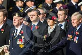 Remembrance Sunday at the Cenotaph in London 2014: Group D6 - TRBL Ex-Service Members. Press stand opposite the Foreign Office building, Whitehall, London SW1, London, Greater London, United Kingdom, on 09 November 2014 at 11:44, image #314