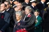 Remembrance Sunday at the Cenotaph in London 2014: Group D9 - Stoll. Press stand opposite the Foreign Office building, Whitehall, London SW1, London, Greater London, United Kingdom, on 09 November 2014 at 11:44, image #330