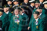 Remembrance Sunday at the Cenotaph in London 2014: Group D10 - Ulster Defence Regiment. Press stand opposite the Foreign Office building, Whitehall, London SW1, London, Greater London, United Kingdom, on 09 November 2014 at 11:44, image #335