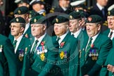 Remembrance Sunday at the Cenotaph in London 2014: Group D10 - Ulster Defence Regiment. Press stand opposite the Foreign Office building, Whitehall, London SW1, London, Greater London, United Kingdom, on 09 November 2014 at 11:44, image #337