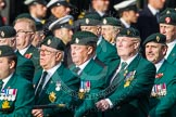 Remembrance Sunday at the Cenotaph in London 2014: Group D10 - Ulster Defence Regiment. Press stand opposite the Foreign Office building, Whitehall, London SW1, London, Greater London, United Kingdom, on 09 November 2014 at 11:44, image #340
