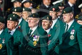 Remembrance Sunday at the Cenotaph in London 2014: Group D10 - Ulster Defence Regiment. Press stand opposite the Foreign Office building, Whitehall, London SW1, London, Greater London, United Kingdom, on 09 November 2014 at 11:44, image #341