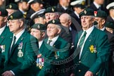 Remembrance Sunday at the Cenotaph in London 2014: Group D10 - Ulster Defence Regiment. Press stand opposite the Foreign Office building, Whitehall, London SW1, London, Greater London, United Kingdom, on 09 November 2014 at 11:44, image #342