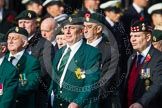 Remembrance Sunday at the Cenotaph in London 2014: Group D10 - Ulster Defence Regiment. Press stand opposite the Foreign Office building, Whitehall, London SW1, London, Greater London, United Kingdom, on 09 November 2014 at 11:44, image #343