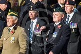 Remembrance Sunday at the Cenotaph in London 2014: Group D13 - Northern Ireland Veterans' Association. Press stand opposite the Foreign Office building, Whitehall, London SW1, London, Greater London, United Kingdom, on 09 November 2014 at 11:45, image #364