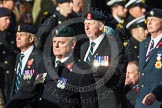 Remembrance Sunday at the Cenotaph in London 2014: Group D13 - Northern Ireland Veterans' Association. Press stand opposite the Foreign Office building, Whitehall, London SW1, London, Greater London, United Kingdom, on 09 November 2014 at 11:45, image #365