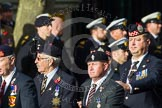 Remembrance Sunday at the Cenotaph in London 2014: Group D13 - Northern Ireland Veterans' Association. Press stand opposite the Foreign Office building, Whitehall, London SW1, London, Greater London, United Kingdom, on 09 November 2014 at 11:45, image #370