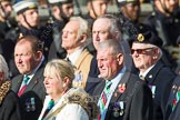 Remembrance Sunday at the Cenotaph in London 2014: Group D19 - South Atlantic Medal Association. Press stand opposite the Foreign Office building, Whitehall, London SW1, London, Greater London, United Kingdom, on 09 November 2014 at 11:46, image #394