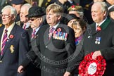 Remembrance Sunday at the Cenotaph in London 2014: Group D20 - SSAFA Forces Help. Press stand opposite the Foreign Office building, Whitehall, London SW1, London, Greater London, United Kingdom, on 09 November 2014 at 11:46, image #403