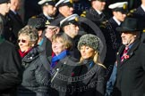 Remembrance Sunday at the Cenotaph in London 2014: Group D20 - SSAFA Forces Help. Press stand opposite the Foreign Office building, Whitehall, London SW1, London, Greater London, United Kingdom, on 09 November 2014 at 11:46, image #404