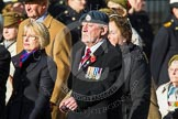 Remembrance Sunday at the Cenotaph in London 2014: Group D21 - First Aid Nursing Yeomanry (Princess Royal's Volunteers Corps). Press stand opposite the Foreign Office building, Whitehall, London SW1, London, Greater London, United Kingdom, on 09 November 2014 at 11:46, image #410