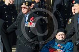 Remembrance Sunday at the Cenotaph in London 2014: Group D22 - Association of Jewish Ex-Servicemen & Women. Press stand opposite the Foreign Office building, Whitehall, London SW1, London, Greater London, United Kingdom, on 09 November 2014 at 11:46, image #415
