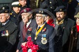 Remembrance Sunday at the Cenotaph in London 2014: Group D22 - Association of Jewish Ex-Servicemen & Women. Press stand opposite the Foreign Office building, Whitehall, London SW1, London, Greater London, United Kingdom, on 09 November 2014 at 11:46, image #417