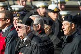 Remembrance Sunday at the Cenotaph in London 2014: Group D22 - Association of Jewish Ex-Servicemen & Women. Press stand opposite the Foreign Office building, Whitehall, London SW1, London, Greater London, United Kingdom, on 09 November 2014 at 11:46, image #420