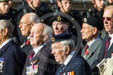 Remembrance Sunday at the Cenotaph in London 2014: Group D22 - Association of Jewish Ex-Servicemen & Women. Press stand opposite the Foreign Office building, Whitehall, London SW1, London, Greater London, United Kingdom, on 09 November 2014 at 11:46, image #422