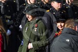 Remembrance Sunday at the Cenotaph in London 2014: Group D24 - War Widows Association. Press stand opposite the Foreign Office building, Whitehall, London SW1, London, Greater London, United Kingdom, on 09 November 2014 at 11:46, image #429