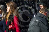 Remembrance Sunday at the Cenotaph in London 2014: Group D24 - War Widows Association. Press stand opposite the Foreign Office building, Whitehall, London SW1, London, Greater London, United Kingdom, on 09 November 2014 at 11:47, image #432