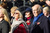 Remembrance Sunday at the Cenotaph in London 2014: Group D24 - War Widows Association. Press stand opposite the Foreign Office building, Whitehall, London SW1, London, Greater London, United Kingdom, on 09 November 2014 at 11:47, image #454