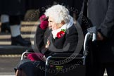 Remembrance Sunday at the Cenotaph in London 2014: Group D24 - War Widows Association. Press stand opposite the Foreign Office building, Whitehall, London SW1, London, Greater London, United Kingdom, on 09 November 2014 at 11:47, image #459