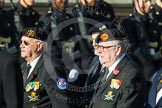 Remembrance Sunday at the Cenotaph in London 2014: Group D29 - Bond Van Wapenbroeders. Press stand opposite the Foreign Office building, Whitehall, London SW1, London, Greater London, United Kingdom, on 09 November 2014 at 11:48, image #511