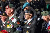 Remembrance Sunday at the Cenotaph in London 2014: Group D29 - Bond Van Wapenbroeders. Press stand opposite the Foreign Office building, Whitehall, London SW1, London, Greater London, United Kingdom, on 09 November 2014 at 11:48, image #513
