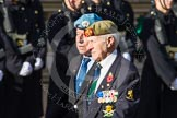 Remembrance Sunday at the Cenotaph in London 2014: Group D29 - Bond Van Wapenbroeders. Press stand opposite the Foreign Office building, Whitehall, London SW1, London, Greater London, United Kingdom, on 09 November 2014 at 11:48, image #516