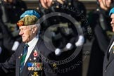 Remembrance Sunday at the Cenotaph in London 2014: Group D29 - Bond Van Wapenbroeders. Press stand opposite the Foreign Office building, Whitehall, London SW1, London, Greater London, United Kingdom, on 09 November 2014 at 11:48, image #517