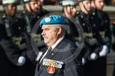 Remembrance Sunday at the Cenotaph in London 2014: Group D29 - Bond Van Wapenbroeders. Press stand opposite the Foreign Office building, Whitehall, London SW1, London, Greater London, United Kingdom, on 09 November 2014 at 11:48, image #518