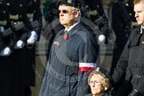 Remembrance Sunday at the Cenotaph in London 2014: Group D30 - Polish Ex-Combatants Association in Great Britain Trust Fund. Press stand opposite the Foreign Office building, Whitehall, London SW1, London, Greater London, United Kingdom, on 09 November 2014 at 11:48, image #520