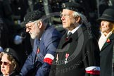 Remembrance Sunday at the Cenotaph in London 2014: Group D30 - Polish Ex-Combatants Association in Great Britain Trust Fund. Press stand opposite the Foreign Office building, Whitehall, London SW1, London, Greater London, United Kingdom, on 09 November 2014 at 11:48, image #522