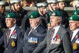 Remembrance Sunday at the Cenotaph in London 2014: Group E1 - Royal Marines Association. Press stand opposite the Foreign Office building, Whitehall, London SW1, London, Greater London, United Kingdom, on 09 November 2014 at 11:49, image #529