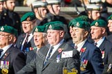 Remembrance Sunday at the Cenotaph in London 2014: Group E1 - Royal Marines Association. Press stand opposite the Foreign Office building, Whitehall, London SW1, London, Greater London, United Kingdom, on 09 November 2014 at 11:49, image #530
