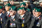 Remembrance Sunday at the Cenotaph in London 2014: Group E1 - Royal Marines Association. Press stand opposite the Foreign Office building, Whitehall, London SW1, London, Greater London, United Kingdom, on 09 November 2014 at 11:49, image #532