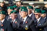 Remembrance Sunday at the Cenotaph in London 2014: Group E1 - Royal Marines Association. Press stand opposite the Foreign Office building, Whitehall, London SW1, London, Greater London, United Kingdom, on 09 November 2014 at 11:49, image #538