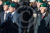 Remembrance Sunday at the Cenotaph in London 2014: Group E1 - Royal Marines Association. Press stand opposite the Foreign Office building, Whitehall, London SW1, London, Greater London, United Kingdom, on 09 November 2014 at 11:49, image #551