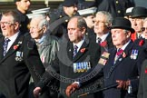Remembrance Sunday at the Cenotaph in London 2014: Group E1 - Royal Marines Association. Press stand opposite the Foreign Office building, Whitehall, London SW1, London, Greater London, United Kingdom, on 09 November 2014 at 11:49, image #554