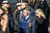 Remembrance Sunday at the Cenotaph in London 2014: Group E2 - Royal Naval Association. Press stand opposite the Foreign Office building, Whitehall, London SW1, London, Greater London, United Kingdom, on 09 November 2014 at 11:49, image #571
