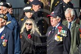 Remembrance Sunday at the Cenotaph in London 2014: Group E2 - Royal Naval Association. Press stand opposite the Foreign Office building, Whitehall, London SW1, London, Greater London, United Kingdom, on 09 November 2014 at 11:49, image #573