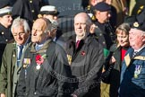 Remembrance Sunday at the Cenotaph in London 2014: Group E2 - Royal Naval Association. Press stand opposite the Foreign Office building, Whitehall, London SW1, London, Greater London, United Kingdom, on 09 November 2014 at 11:49, image #575