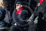 Remembrance Sunday at the Cenotaph in London 2014: Group E2 - Royal Naval Association. Press stand opposite the Foreign Office building, Whitehall, London SW1, London, Greater London, United Kingdom, on 09 November 2014 at 11:49, image #581