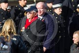 Remembrance Sunday at the Cenotaph in London 2014: Group E2 - Royal Naval Association. Press stand opposite the Foreign Office building, Whitehall, London SW1, London, Greater London, United Kingdom, on 09 November 2014 at 11:50, image #582