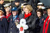Remembrance Sunday at the Cenotaph in London 2014: Group E3 - Merchant Navy Association. Press stand opposite the Foreign Office building, Whitehall, London SW1, London, Greater London, United Kingdom, on 09 November 2014 at 11:50, image #588