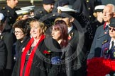 Remembrance Sunday at the Cenotaph in London 2014: Group E3 - Merchant Navy Association. Press stand opposite the Foreign Office building, Whitehall, London SW1, London, Greater London, United Kingdom, on 09 November 2014 at 11:50, image #590